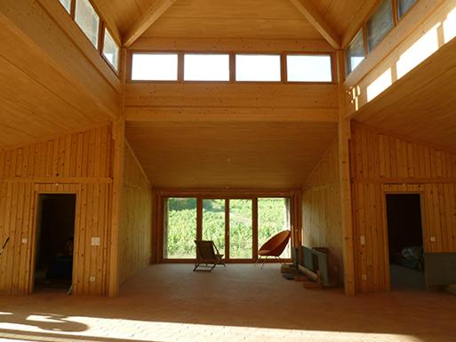 Maison en bois à Rousset