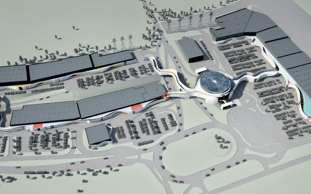 Centre commercial à Villebon